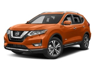 Monarch Orange 2017 Nissan Rogue Pictures Rogue Utility 4D SL 2WD I4 Hybrid photos front view