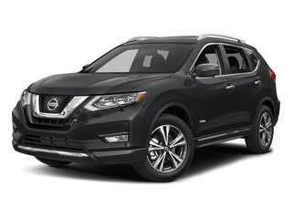 Magnetic Black 2017 Nissan Rogue Pictures Rogue Utility 4D SL 2WD I4 Hybrid photos front view