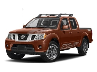 Forged Copper 2017 Nissan Frontier Pictures Frontier Crew Cab PRO-4X 4WD photos front view