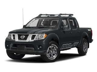 Magnetic Black 2017 Nissan Frontier Pictures Frontier Crew Cab PRO-4X 4WD photos front view