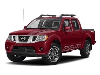 Cayenne Red 2017 Nissan Frontier Pictures Frontier Crew Cab PRO-4X 4WD photos front view