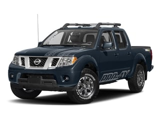 Arctic Blue Metallic 2017 Nissan Frontier Pictures Frontier Crew Cab PRO-4X 4WD photos front view