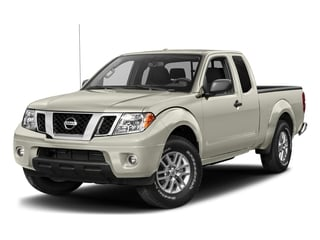 Glacier White 2017 Nissan Frontier Pictures Frontier King Cab SV 2WD photos front view