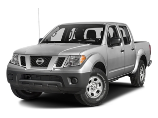 Brilliant Silver 2017 Nissan Frontier Pictures Frontier Crew Cab S 4WD photos front view