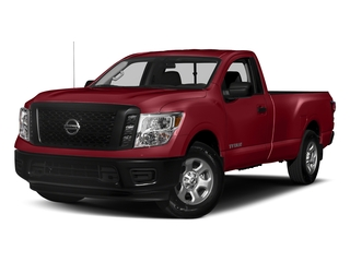 Cayenne Red 2017 Nissan Titan Pictures Titan Regular Cab S 2WD photos front view