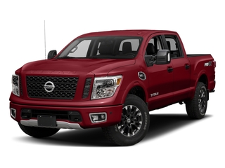 Cayenne Red 2017 Nissan Titan Pictures Titan Crew Cab PRO-4X 4WD photos front view