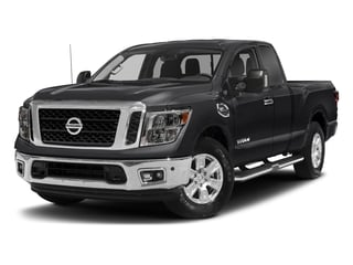 Magnetic Black 2017 Nissan Titan Pictures Titan King Cab SV 2WD photos front view