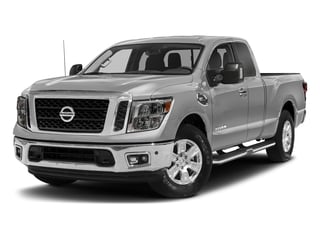 Brilliant Silver 2017 Nissan Titan Pictures Titan King Cab SV 2WD photos front view