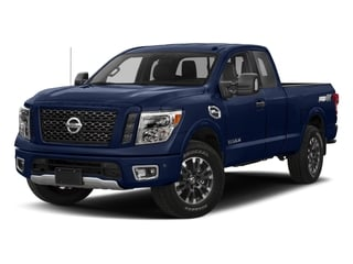 Deep Blue Pearl 2017 Nissan Titan Pictures Titan King Cab PRO-4X 4WD photos front view