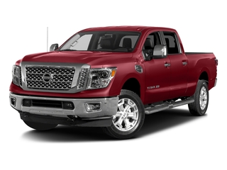 Cayenne Red 2017 Nissan Titan XD Pictures Titan XD Crew Cab SL 2WD photos front view