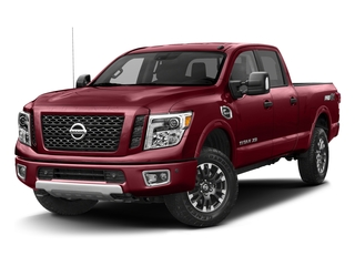 Cayenne Red 2017 Nissan Titan XD Pictures Titan XD Crew Cab PRO-4X 4WD photos front view