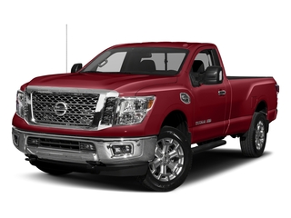 Cayenne Red 2017 Nissan Titan XD Pictures Titan XD Regular Cab SV 2WD photos front view