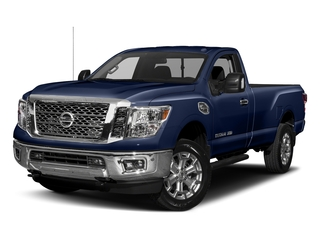 Deep Blue Pearl 2017 Nissan Titan XD Pictures Titan XD Regular Cab SV 2WD photos front view