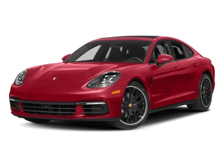 Carmine Red 2017 Porsche Panamera Pictures Panamera Hatchback 4D 4 AWD V6 Turbo photos front view