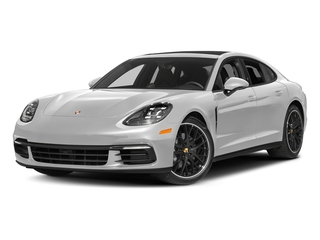 Carrara White Metallic 2017 Porsche Panamera Pictures Panamera Hatchback 4D 4 AWD V6 Turbo photos front view