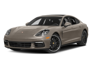 Palladium Metallic 2017 Porsche Panamera Pictures Panamera Hatchback 4D 4 AWD V6 Turbo photos front view