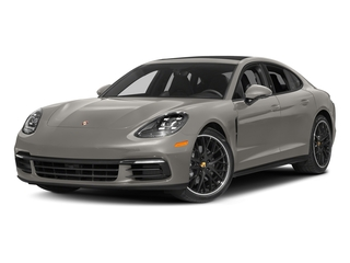 Agate Grey Metallic 2017 Porsche Panamera Pictures Panamera Hatchback 4D 4 AWD V6 Turbo photos front view