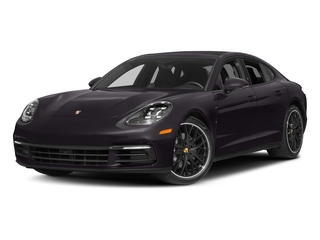 Amethyst Metallic 2017 Porsche Panamera Pictures Panamera Hatchback 4D 4 AWD V6 Turbo photos front view