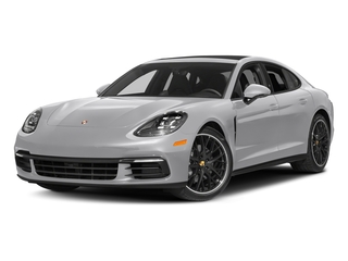 GT Silver Metallic 2017 Porsche Panamera Pictures Panamera Hatchback 4D 4 AWD V6 Turbo photos front view