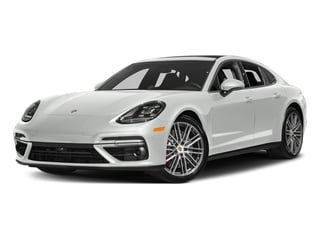 White 2017 Porsche Panamera Pictures Panamera Turbo Executive AWD photos front view