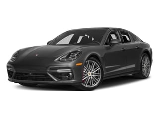 Volcano Grey Metallic 2017 Porsche Panamera Pictures Panamera Turbo Executive AWD photos front view