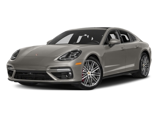 Agate Grey Metallic 2017 Porsche Panamera Pictures Panamera Turbo Executive AWD photos front view