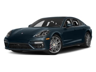 Night Blue Metallic 2017 Porsche Panamera Pictures Panamera Turbo Executive AWD photos front view