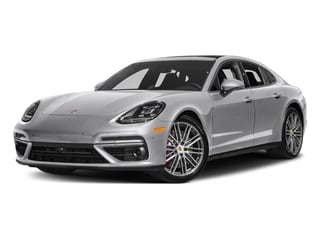 GT Silver Metallic 2017 Porsche Panamera Pictures Panamera Turbo Executive AWD photos front view