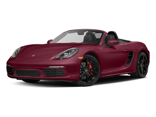 Carmine Red 2017 Porsche 718 Boxster Pictures 718 Boxster Roadster 2D S H4 Turbo photos front view
