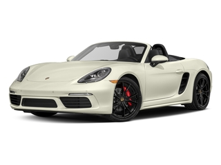 Carrara White Metallic 2017 Porsche 718 Boxster Pictures 718 Boxster Roadster 2D S H4 Turbo photos front view