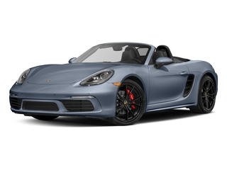 Graphite Blue Metallic 2017 Porsche 718 Boxster Pictures 718 Boxster Roadster 2D S H4 Turbo photos front view