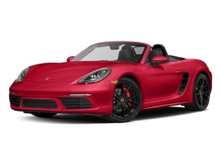Guards Red 2017 Porsche 718 Boxster Pictures 718 Boxster Roadster 2D S H4 Turbo photos front view