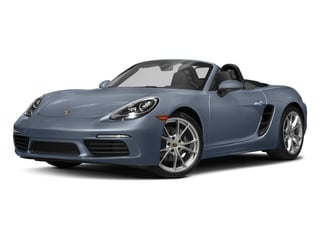 Graphite Blue Metallic 2017 Porsche 718 Boxster Pictures 718 Boxster Roadster 2D H4 Turbo photos front view