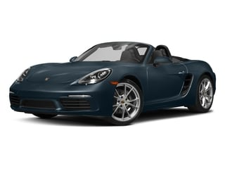 Night Blue Metallic 2017 Porsche 718 Boxster Pictures 718 Boxster Roadster 2D H4 Turbo photos front view