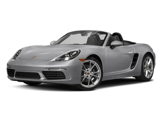 GT Silver Metallic 2017 Porsche 718 Boxster Pictures 718 Boxster Roadster 2D H4 Turbo photos front view