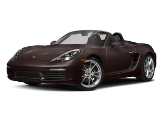 Mahogany Metallic 2017 Porsche 718 Boxster Pictures 718 Boxster Roadster 2D H4 Turbo photos front view