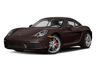 Mahogany Metallic 2017 Porsche 718 Cayman Pictures 718 Cayman Coupe 2D S H4 Turbo photos front view