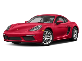 Guards Red 2017 Porsche 718 Cayman Pictures 718 Cayman Coupe 2D H4 Turbo photos front view