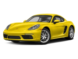 Racing Yellow 2017 Porsche 718 Cayman Pictures 718 Cayman Coupe 2D H4 Turbo photos front view