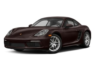 Mahogany Metallic 2017 Porsche 718 Cayman Pictures 718 Cayman Coupe 2D H4 Turbo photos front view
