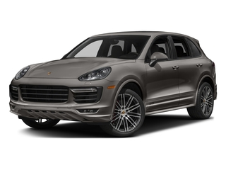 Meteor Grey Metallic 2017 Porsche Cayenne Pictures Cayenne Utility 4D GTS AWD V6 Turbo photos front view