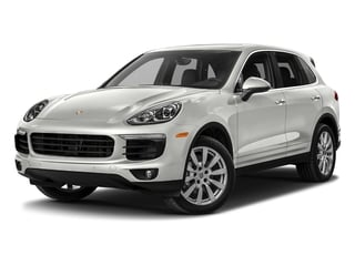 White 2017 Porsche Cayenne Pictures Cayenne Utility 4D S AWD V6 Turbo photos front view