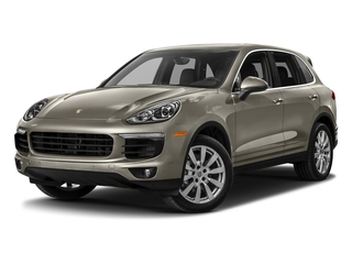 Palladium Metallic 2017 Porsche Cayenne Pictures Cayenne Utility 4D S AWD V6 Turbo photos front view