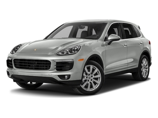 Rhodium Silver Metallic 2017 Porsche Cayenne Pictures Cayenne Utility 4D S AWD V6 Turbo photos front view