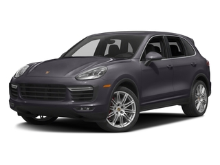 Purpurite Metallic 2017 Porsche Cayenne Pictures Cayenne Utility 4D S AWD V8 Turbo photos front view