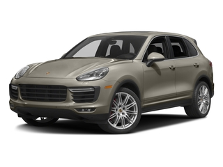Palladium Metallic 2017 Porsche Cayenne Pictures Cayenne Utility 4D AWD V8 Turbo photos front view