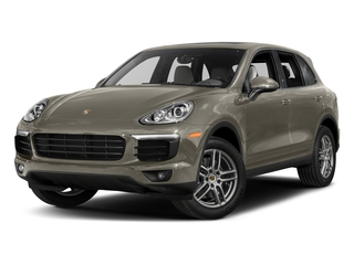 Palladium Metallic 2017 Porsche Cayenne Pictures Cayenne AWD photos front view
