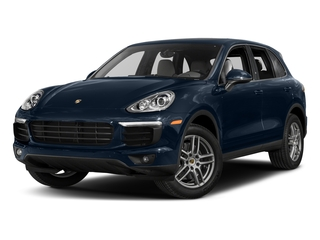 Moonlight Blue Metallic 2017 Porsche Cayenne Pictures Cayenne Utility 4D AWD V6 photos front view