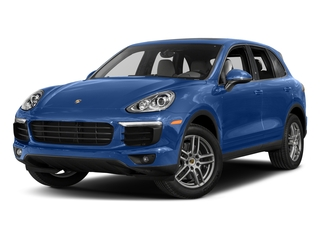 Sapphire Blue Metallic 2017 Porsche Cayenne Pictures Cayenne Utility 4D AWD V6 photos front view