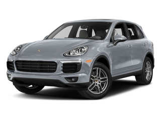 Rhodium Silver Metallic 2017 Porsche Cayenne Pictures Cayenne Utility 4D AWD V6 photos front view